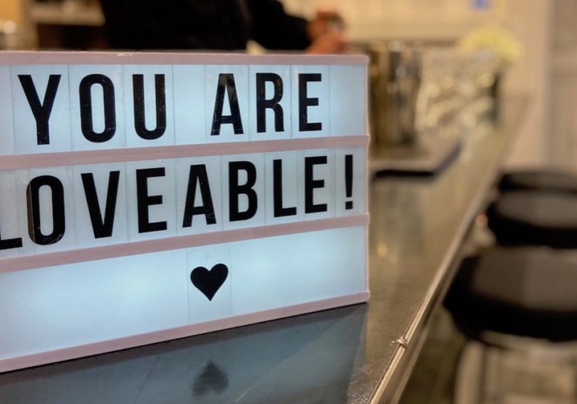 Loveable sign
